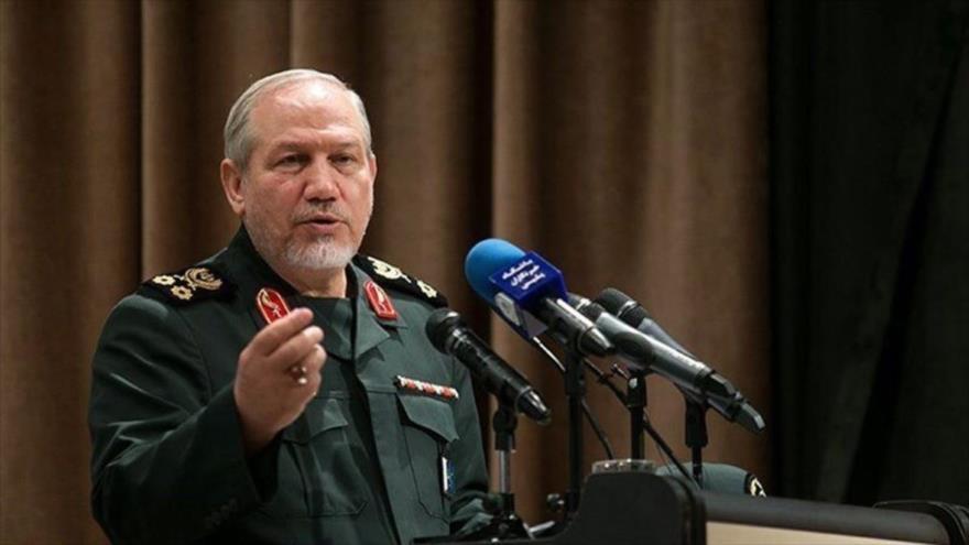 El asesor del Líder de la Revolución Islámica de Irán para Asuntos Militares, el general de división Yahya Rahim Safavi.