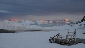 Una estación meteorológica espacial de la Antártida capta sonidos