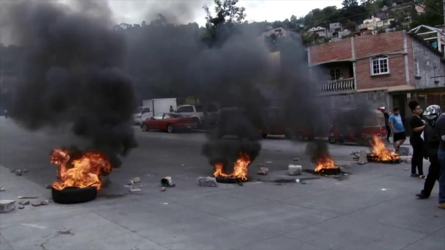 Corrupción y represión gubernamentales marcan el 2018 en Honduras