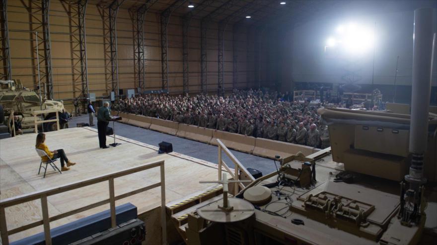 EEUU estableció dos bases en Irak, cerca de frontera con Siria | HISPANTV