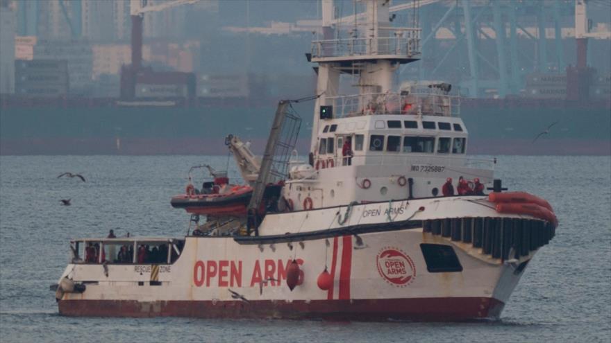 Llegan a España más de 300 migrantes a bordo de Open Arms | HISPANTV