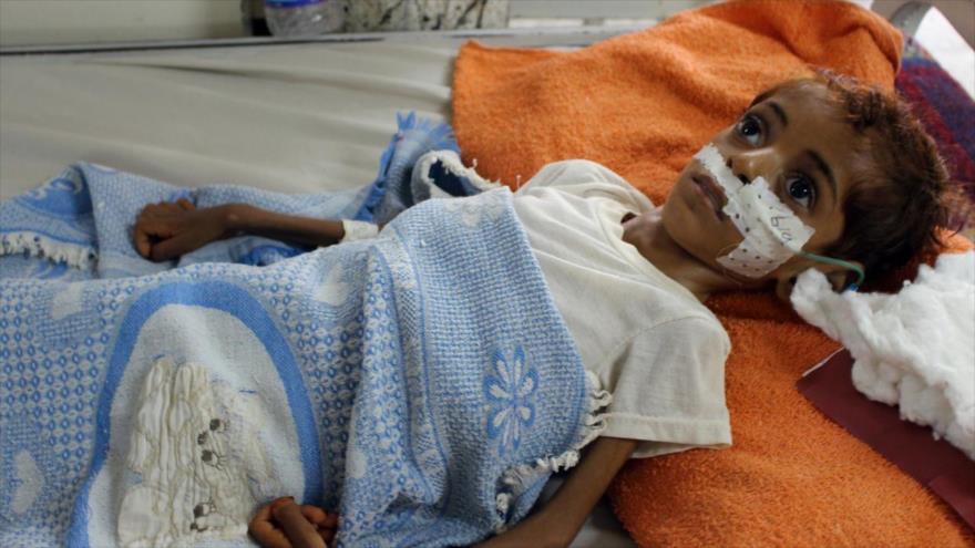 Vídeo: Agresión saudí causó un 2018 desastroso para niños yemeníes