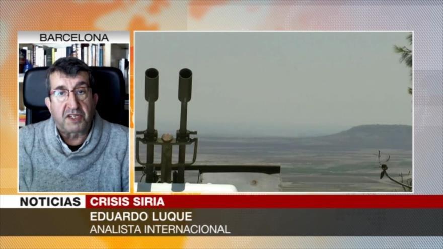 Luque: Cualquier ataque turco a Siria sería un ataque a Rusia