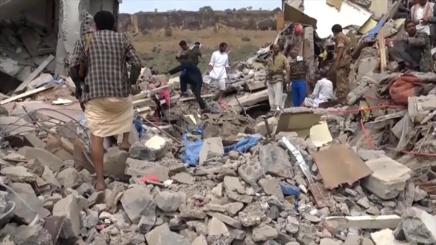 Yemen siguió bajo bombas saudíes en 2018