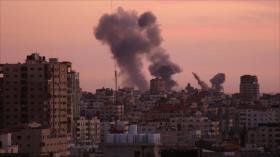 Helicóptero israelí realiza ataque nocturno contra Franja de Gaza