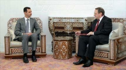 Rusia celebra decisión de árabes de restablecer lazos con Siria