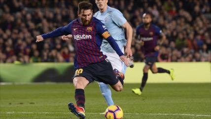 Messi cierra el 2018 como el máximo goleador del mundo