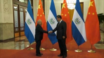 El Salvador prevé beneficios de relaciones con China