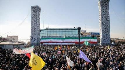 Iraníes conmemoran aniversario de la 'Epopeya del 9 de dey'