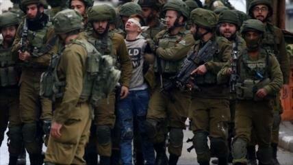 Israel ha detenido en 2018 a 6500 palestinos en Cisjordania y Gaza