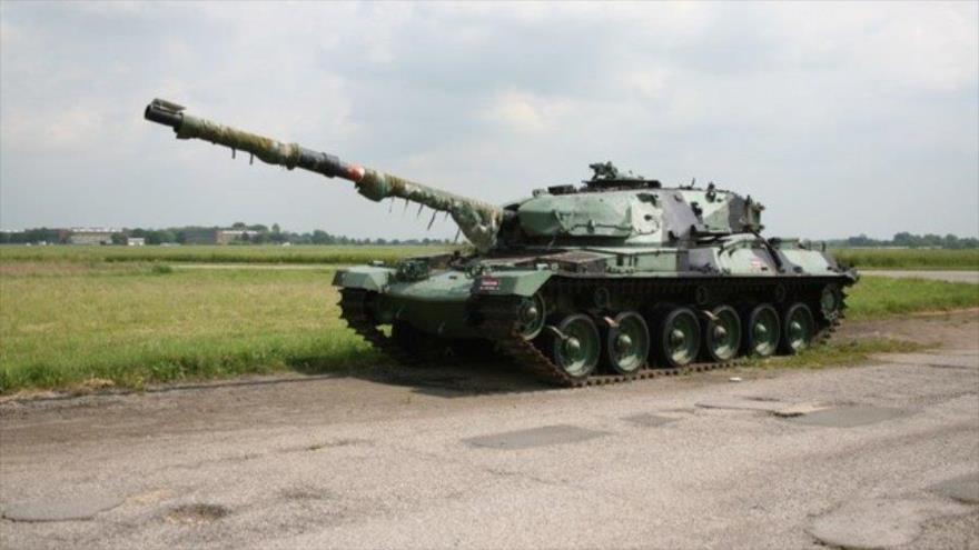 Tanque militar.