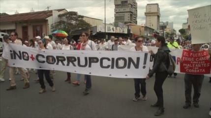 90 días de huelga marcan el 2018 en Costa Rica