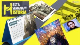 Esta Semana en la Historia: 31 diciembre-6 enero