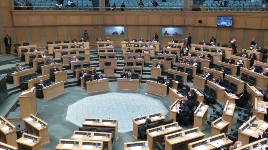 El Parlamento de Jordania en Amán, la capital.