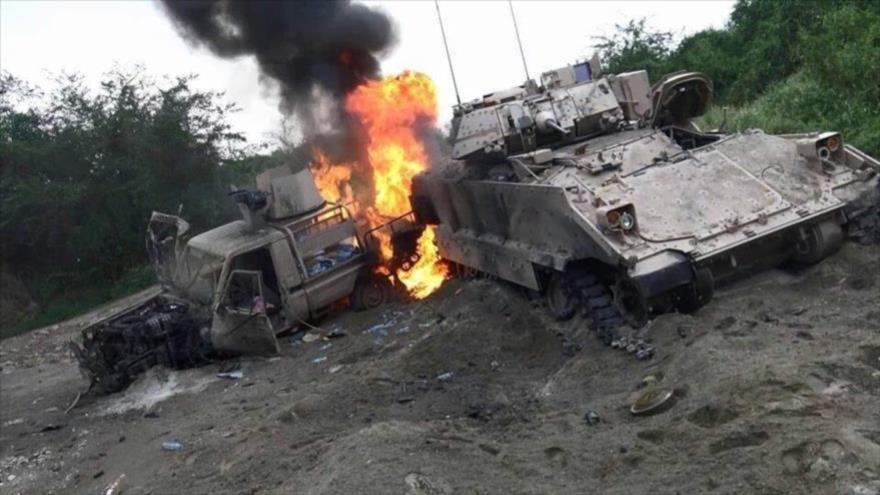Ejército yemení hace recuento de sus victorias sobre coalición saudí