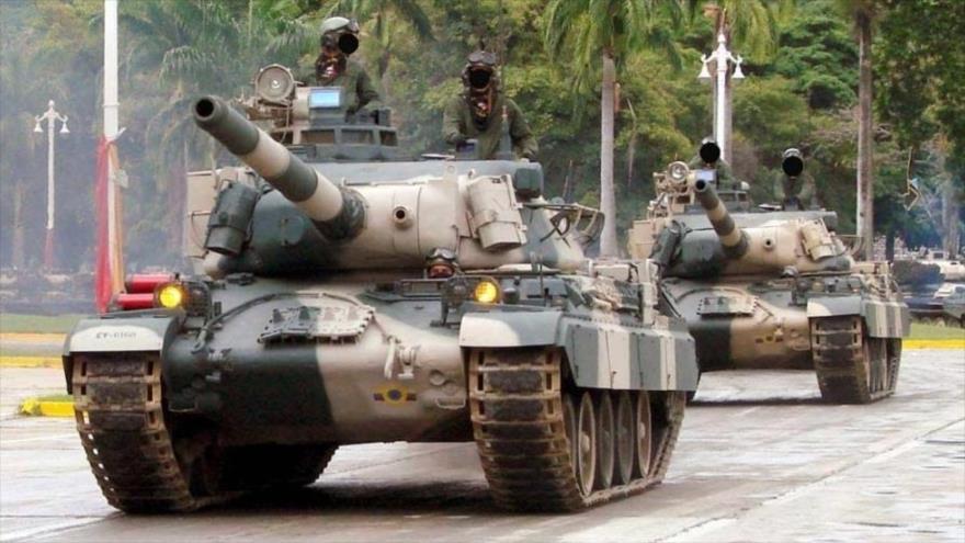 Tanques AMX-30 del Ejército de Venezuela.
