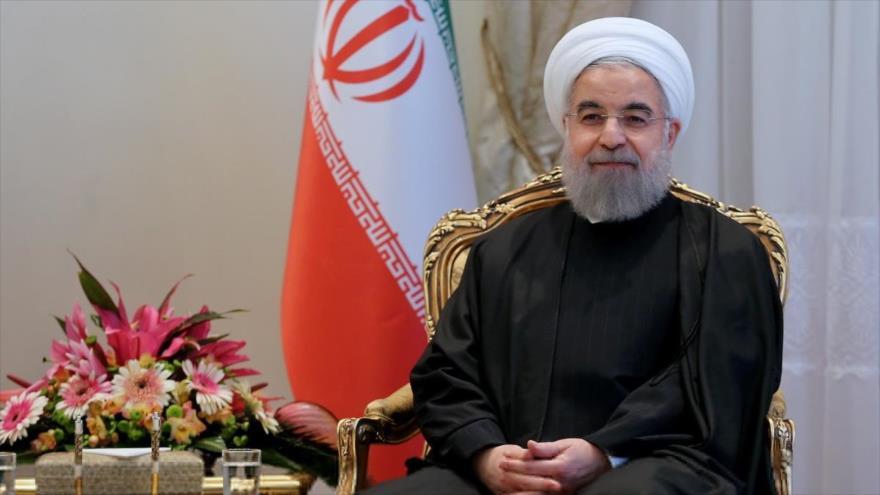 El presidente de Irán, Hasan Rohani.