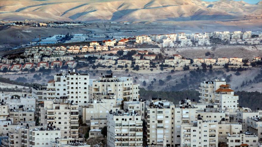 Una visión general del asentamiento israelí Maale Adumim, en ocupada Cisjordania, 17 de noviembre de 2018. (Foto: AFP)