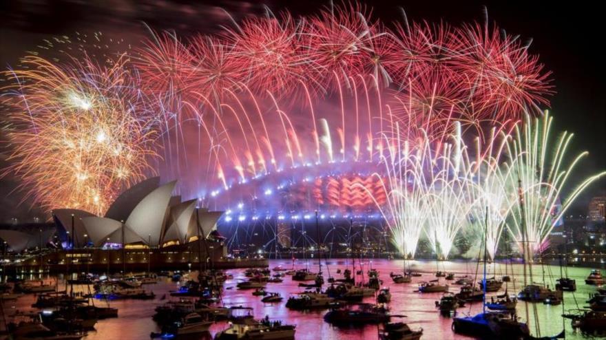 ¡Feliz Año Nuevo! El mundo celebra la llegada del 2019