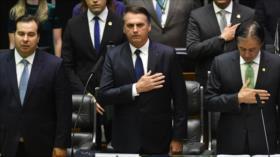 Jair Bolsonaro juramenta como nuevo presidente de Brasil