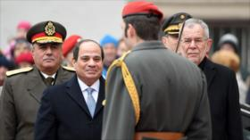 Presidente egipcio busca cambiar Constitución para seguir en poder