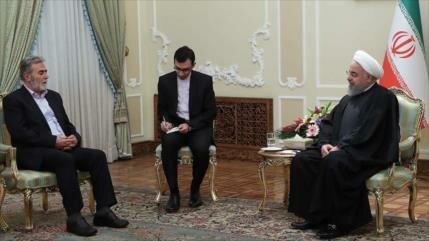 Irán: La Resistencia de los palestinos les dará la victoria