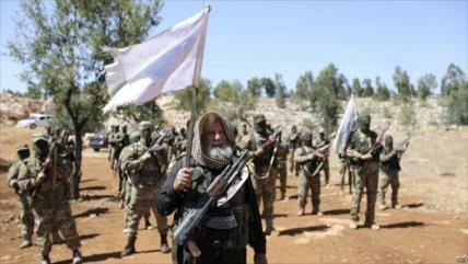 Decenas de terroristas mueren en 'fuerte guerra interna' en Siria