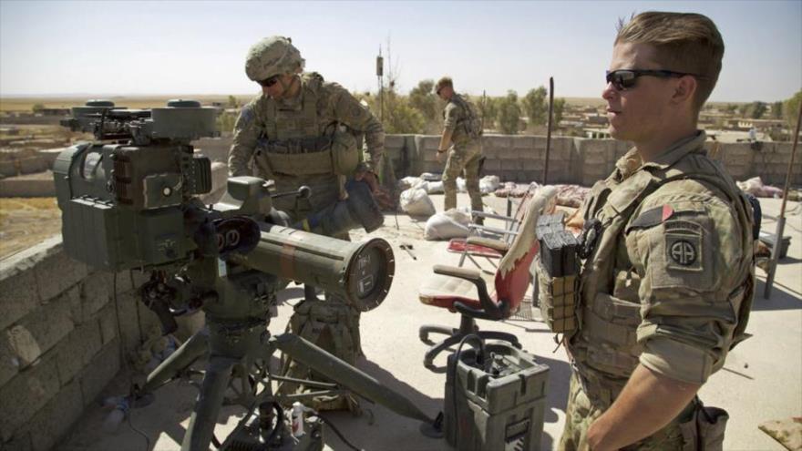 Las fuerzas de EE.UU. en el pueblo de Abu Ghaddur, en el este de Tal Afar, Irak.