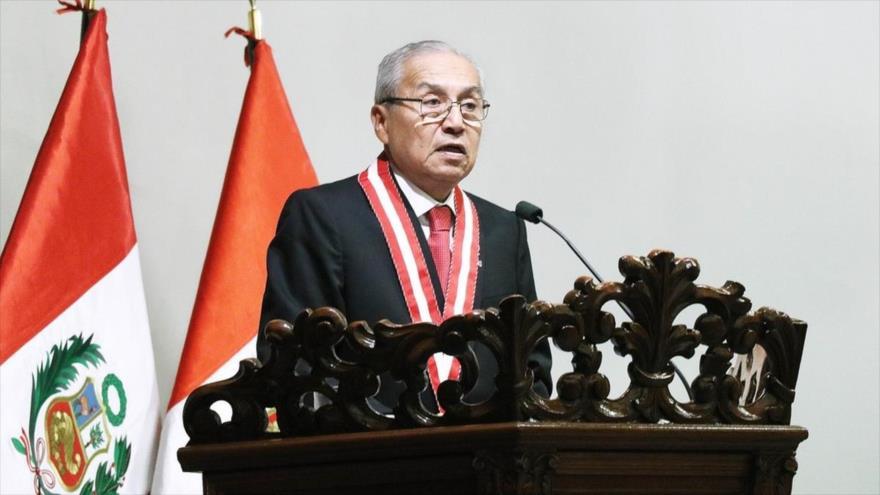 El fiscal general peruano, Pedro Gonzalo Chávarry.