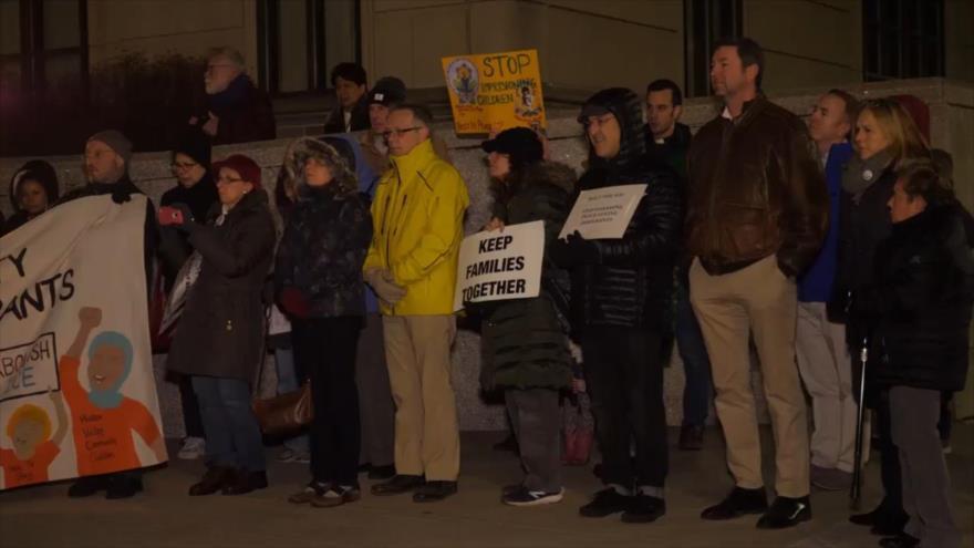 Protestan en EEUU contra ridículas políticas xenófobas y racistas