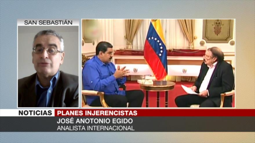 Egido: Hay la posibilidad de una intervención militar en Venezuela