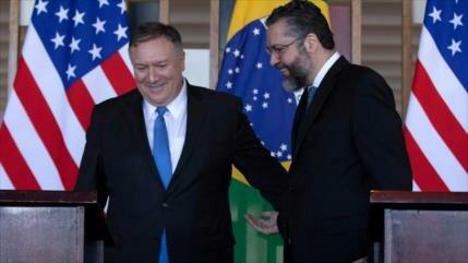 EEUU llama a formar frente antizquierda con Brasil