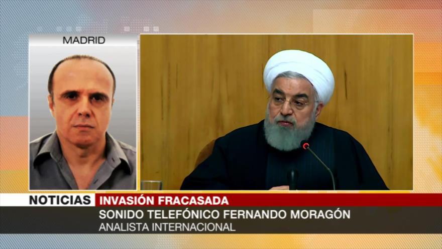 Moragón: EEUU no se retira de Irak para enfrentarse a Irán