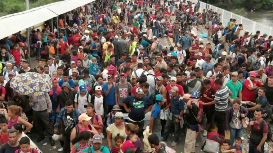 Esperan nueva caravana de migrantes en Chiapas (México)