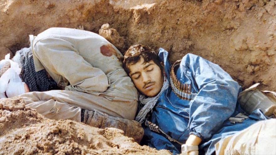 Fotos que sacuden al mundo: Foto de dos mártires de la Guerra Irán-Irak