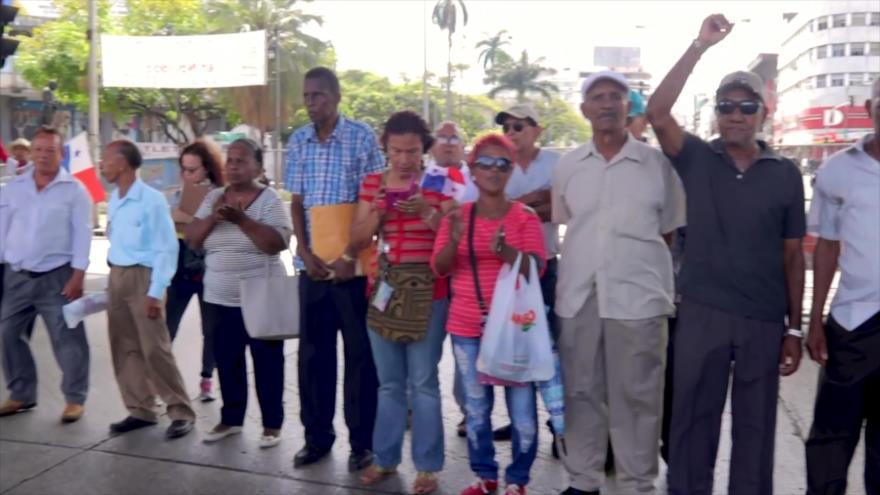 Jubilados inician 2019 exigiendo mejores pensiones en Panamá