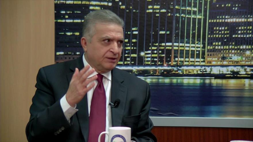 El ministro de Asuntos Exteriores de Irak, Muhamad Ali al-Hakim.