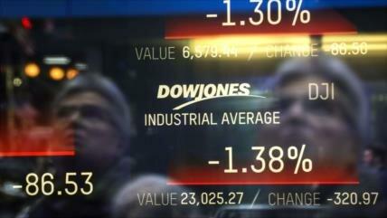El índice Dow Jones sufre una pérdida de 600 puntos