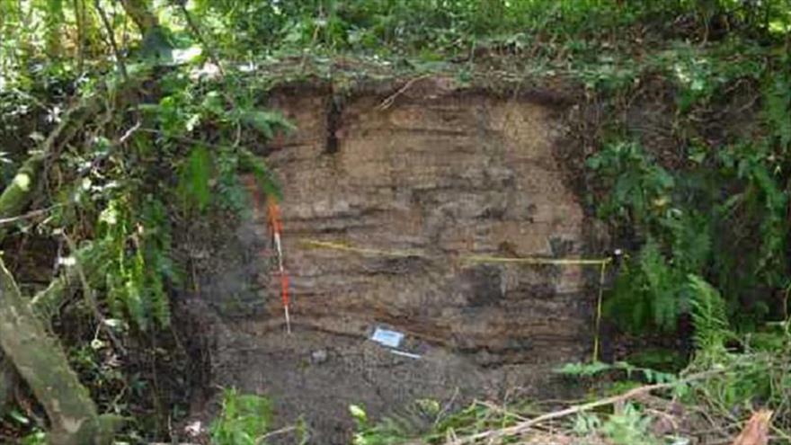 Sitio del entierro de mujer que vivió hace 5900 años, considerado el más viejo del mundo, en Nicaragua.