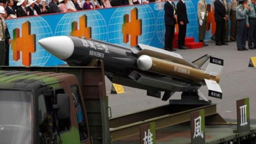"Taiwán presenta misiles supersónicos ante ""amenazas"" de China | HISPANTV"
