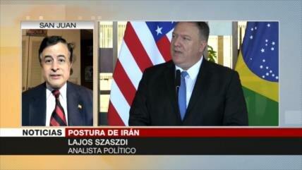 Szászdi: EEUU falsea la realidad sobre Irán a favor de Israel