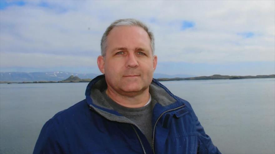 El exmarine estadounidense Paul Whelan, detenido en Rusia por el espionaje, en un reciente viaje a Islandia.