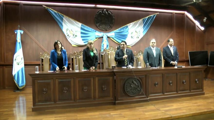 Un abogado de Guatemala denuncia a 3 magistrados de la CC