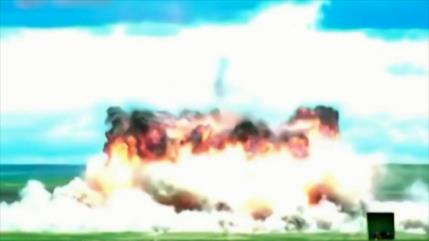 """Vean potente lanzamiento de """"madre de todas las bombas"""" de China"""