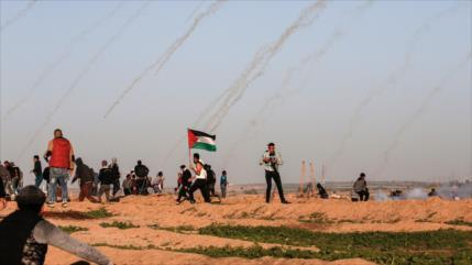 Disparos israelíes en Gaza dejan 15 heridos; 3 médicos incluidos
