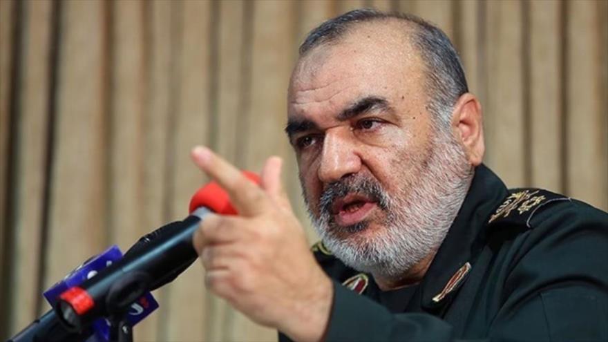 El subcomandante del Cuerpo de Guardianes de la Revolución Islámica (CGRI) de Irán, el general de brigada Hosein Salami, 29 de diciembre de 2018.