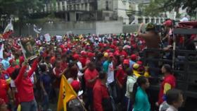 Venezolanos rechazan presiones externas sobre Nicolás Maduro