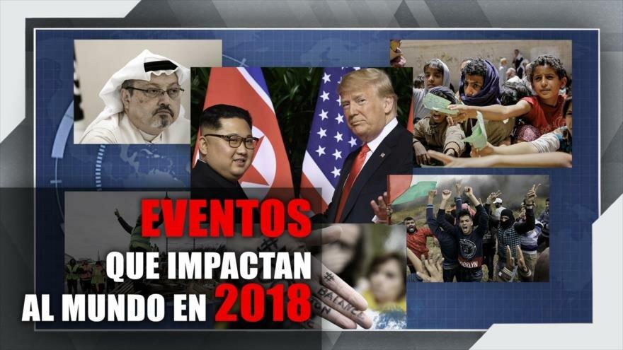 Vídeo: Eventos que impactaron al mundo en 2018