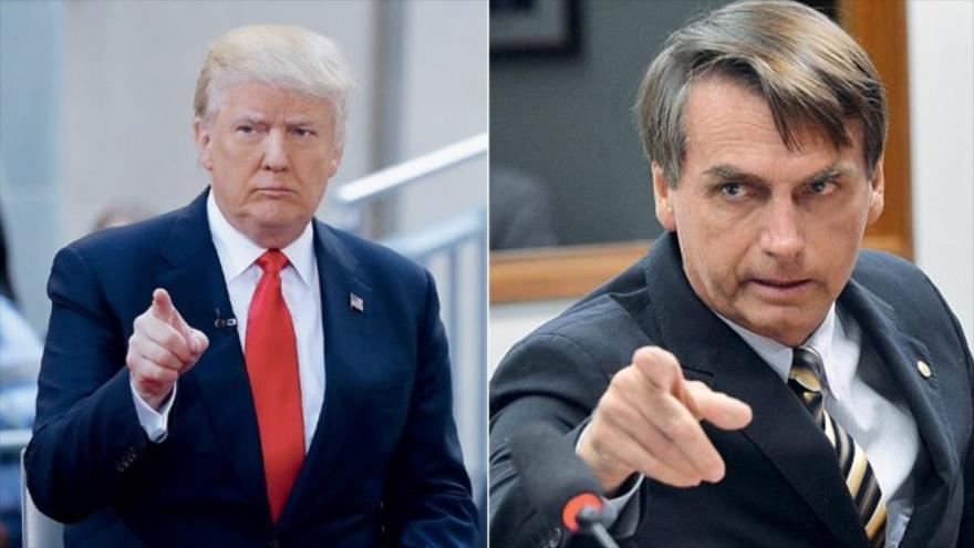 Bolsonaro comparte ideología y conducta con Trump