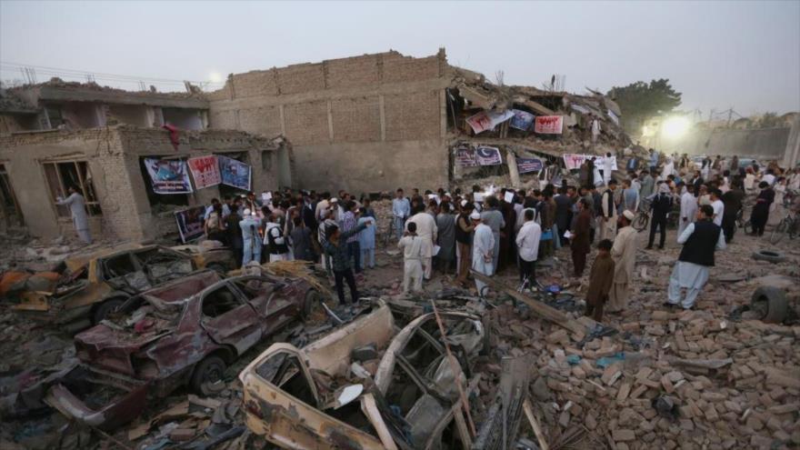 Talibán culpa a EEUU de la mayoría de las víctimas civiles en 2018 | HISPANTV